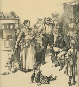 UK-1891 censustaker