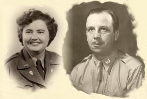 Veterans -Nan and Harry