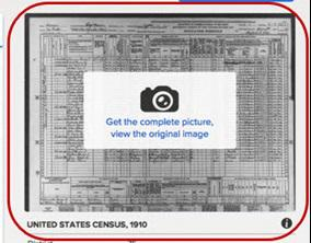 familysearch camera icon