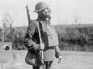 mustard-gas suit