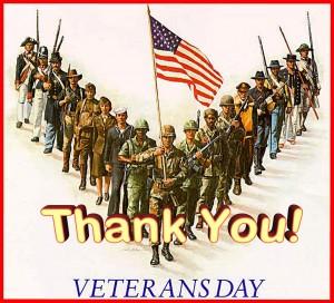 veteran's day - thanks