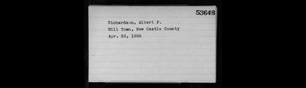 1898-Richardson, A