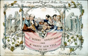 Christmas Cards-Cole-1840s
