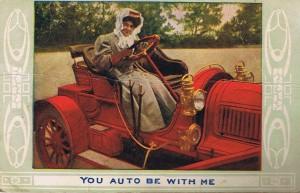 valentine's autocard