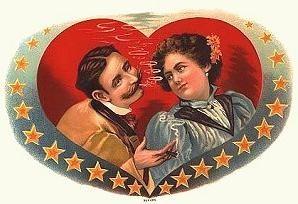 valentines couple-smoking
