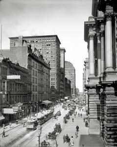 Chicago-Randolph Street 1900