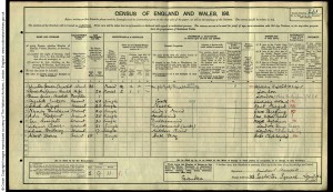 Proof - 1911 UK census