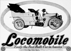 auto tag-Locomobile 1905-AD