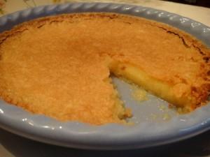 food-vinegar pie