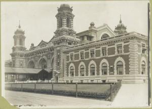Ellis Island-front facade