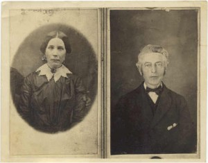 History-Benjamin F Westerfield and his wife Julia Ann