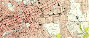 Maps-York, PA 1950s