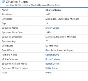 Michigan--Burns