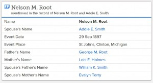 Michigan--Root