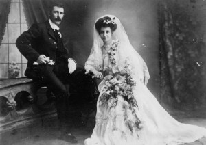Michigan-bride-groom 1900