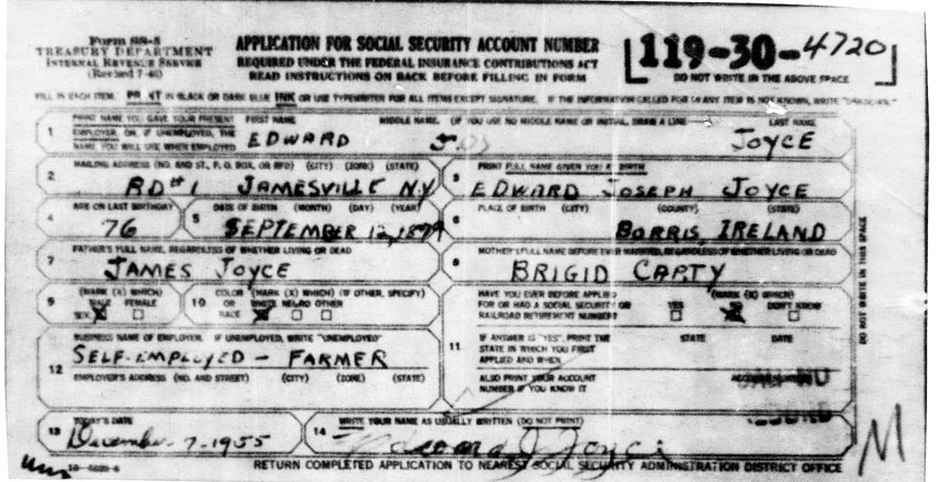Social Security Card Application  InfocardCo