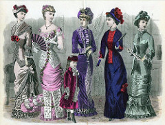 Tuberculosis Shaped Victorian Fashion  Find more genealogy blogs at FamilyTree.com