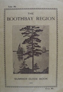 booklet-boothbay summer 1931