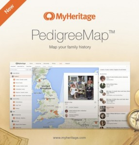 MyHeritage Introduces PedigreeMap  Find more genealogy blogs at FamilyTree.com