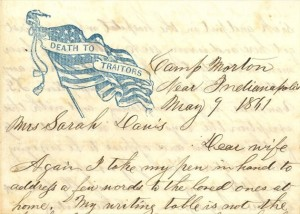 Heirloom--Civil war letters