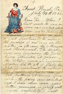 Heirloom--Civil war letters-a