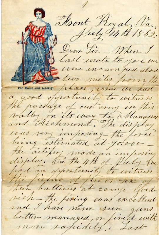 letters from the civil war is that a family heirloom familytree 23344