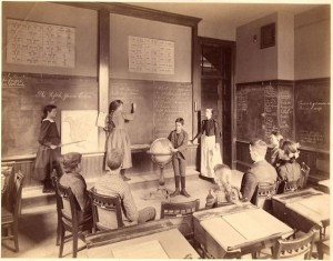 school-class 1892-Boston