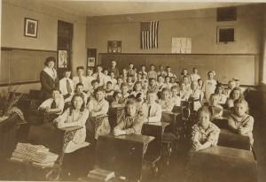 school-class 1920 in PA