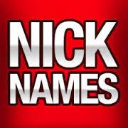 names-nicknames