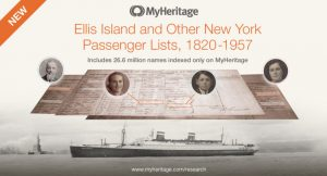 Myheritage Has Ellis Island Passenger Lists