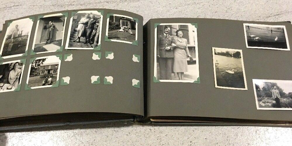 Handling Family Photos From Black Page Albums Familytreecom